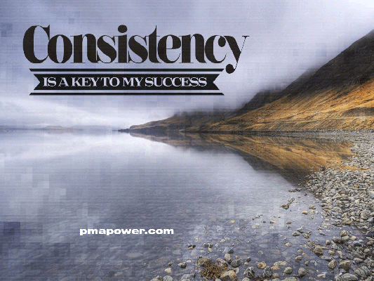 Consistency The Key To Success