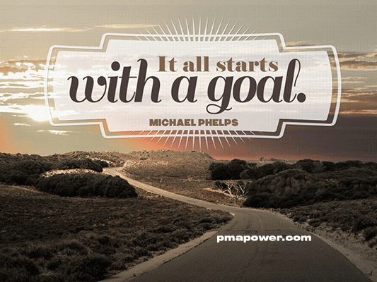 It all starts with a goal