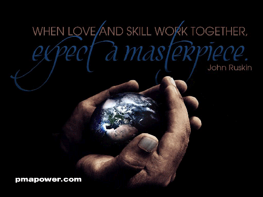 When Love and Skill Work Together, Expect A Masterpiece