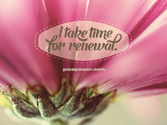 I take time for renewal - pmapower.com
