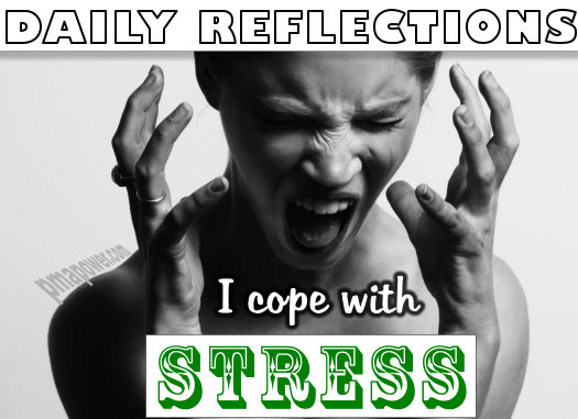 I cope with stress