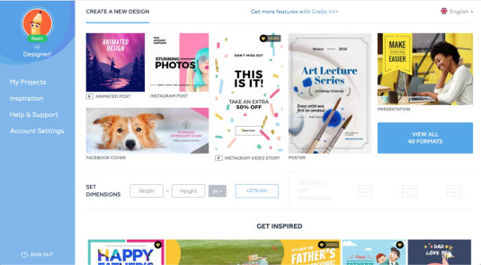21 Free Online Design Tools To Create Stunning Visual Content - Part 2